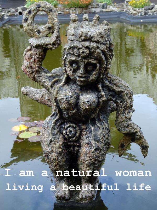 natural woman beautiful life