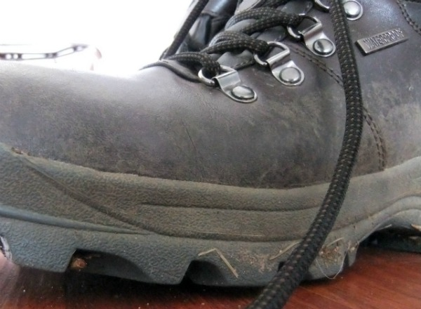 going hiking boot