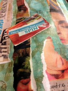 collage + happy mail
