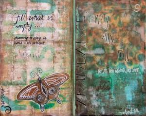 retreat art journal