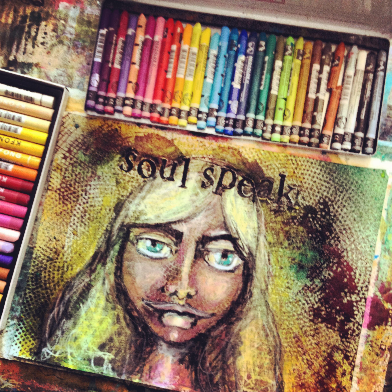 soul speak goddess portrait