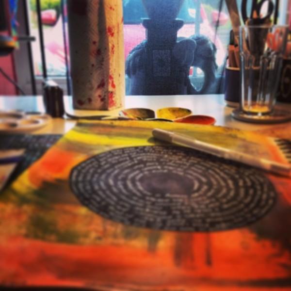 mandala for journaling