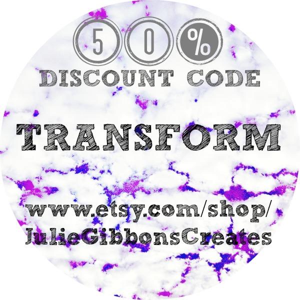 Transform Etsy Discount