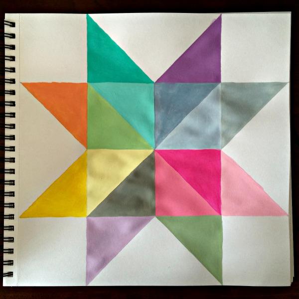 geometric star