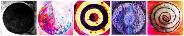 Mandala Banner Circles