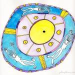 prehistoric circles mandala