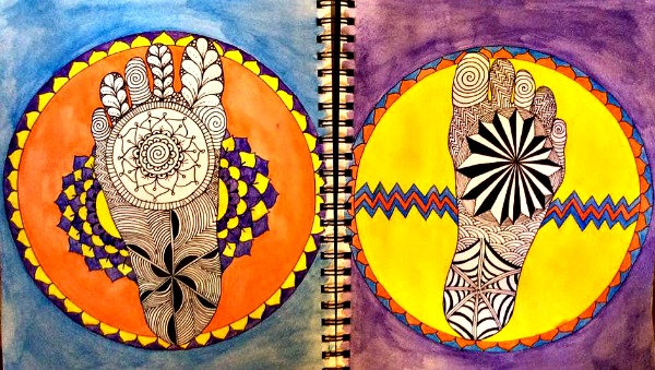 great round of mandala stage five
