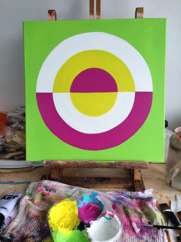 Great Round of Mandala Stage Six canvas art