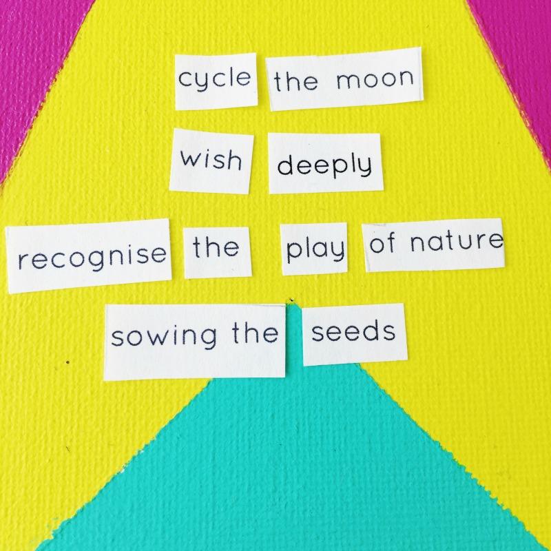 cycle the moon mandala