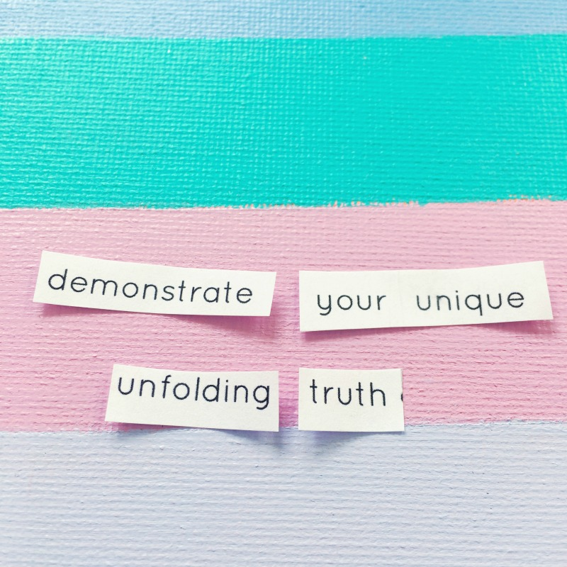 unfolding truth