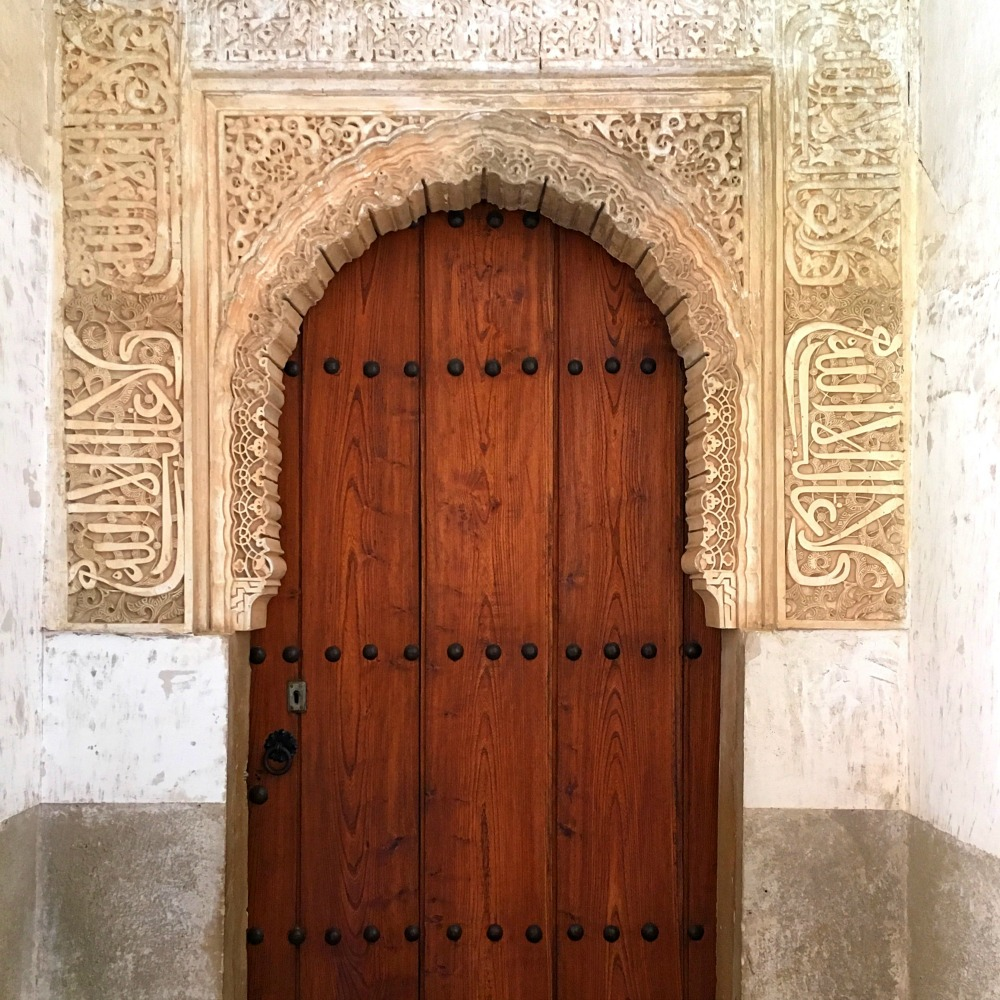 Archway Alhambra Granada