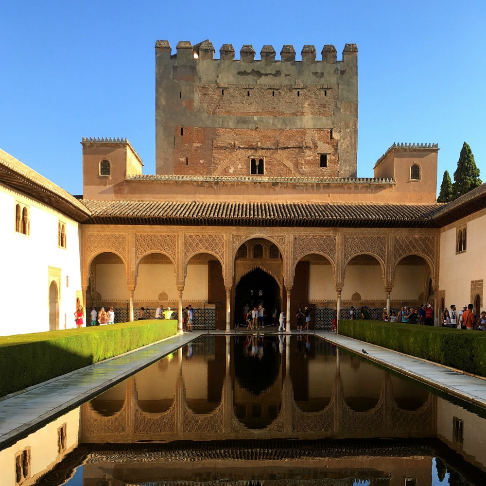 Courtyard Reflections Alhambra Granada