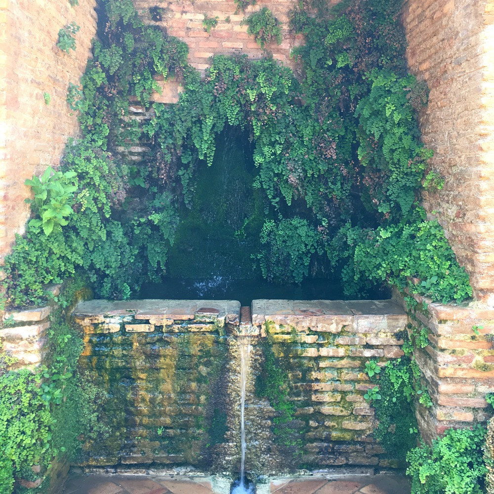 Terraced Garden Fountain Alhambra