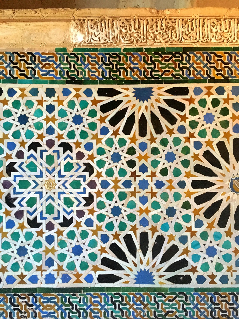 Zillij Tiles Alhambra Image