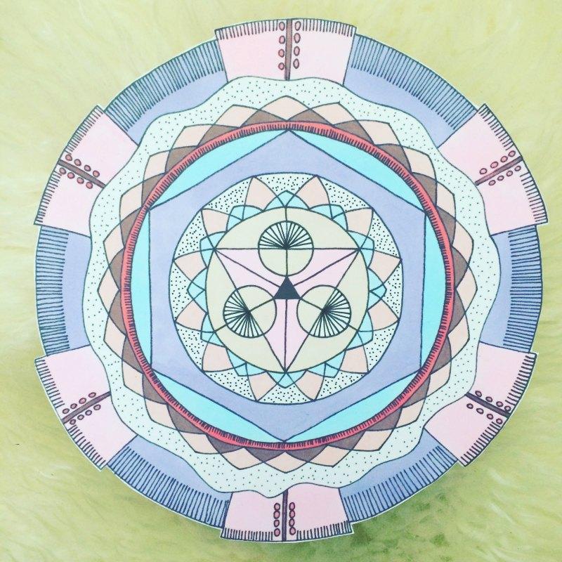 alchemy bright mandala image