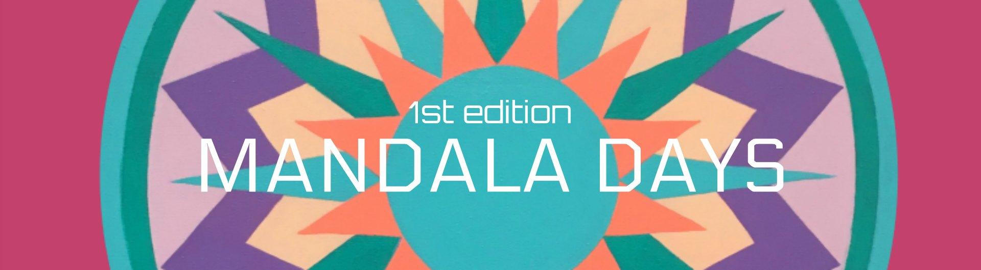 Mandala Days 1st Edition Banner Lo Res