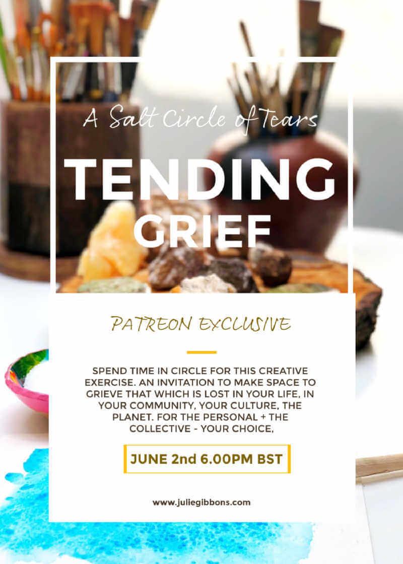 Tending Grief : Event Flyer