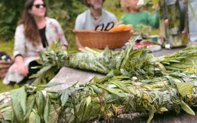 Launching The Woven Land Network with a Midsummer Party