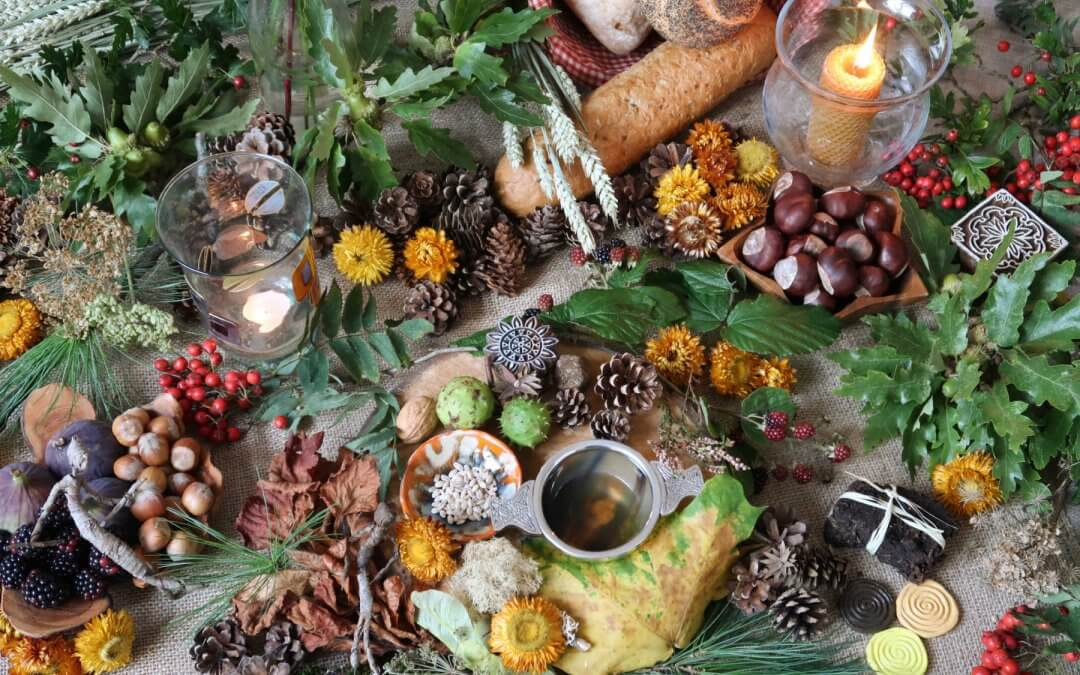 Autumn Equinox Altar