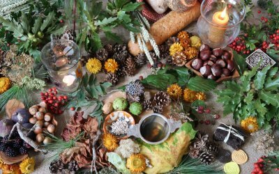 Celebrating the Hairst : a visual poem for the autumn equinox