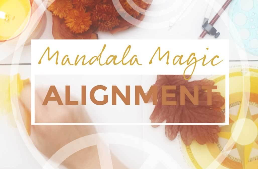 Mandala Magic : ALIGNMENT reopens for registration (20% discount)